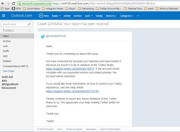 Keith Gill Account Locked 1042015